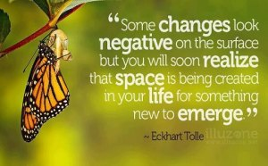 * Inspiration from Eckhart Tolle for the New Year