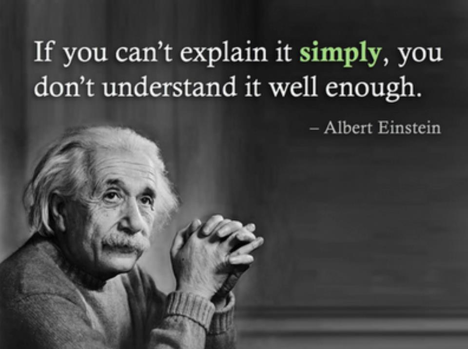 Einstein Quotes: Find Your Middle Ground
