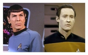 spock and data