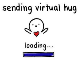 Sending Virtual Hug Gif Traffic Club