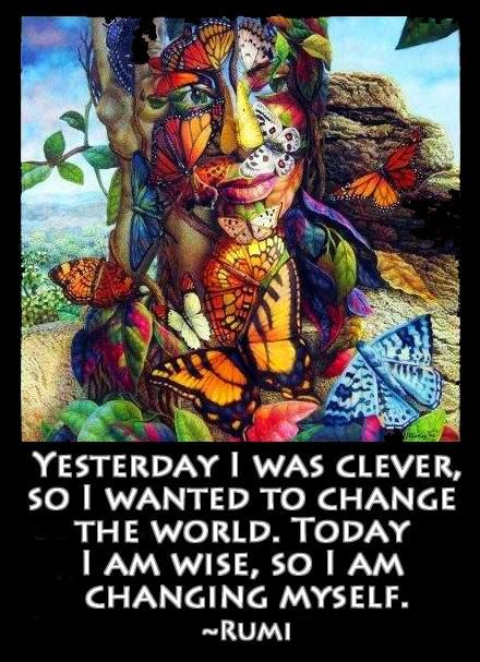 Transformation by Rumi