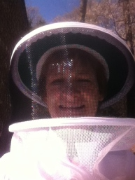 Bee selfie