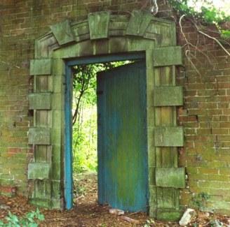 blue door to our true nature