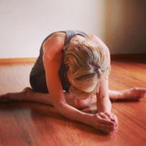 courageous yoga pose