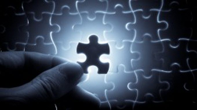 shining puzzle piece