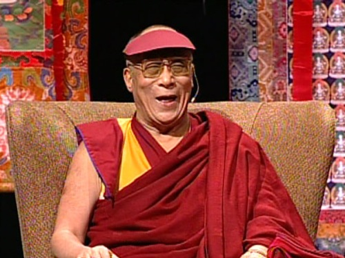 dalai lama laugh