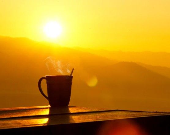 waking up to sunshine