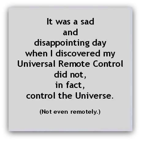 universal remote control