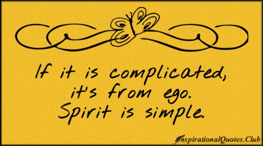 spiriti is simple