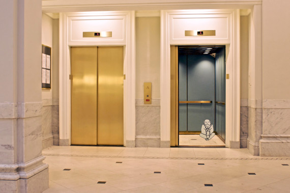 Life Is Like An Elevator Ride Find Your Middle Ground