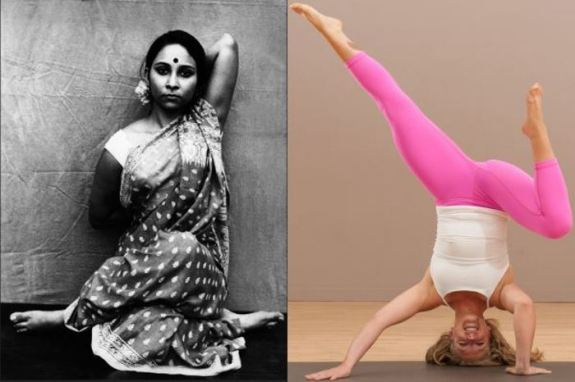 yoga in India and USA