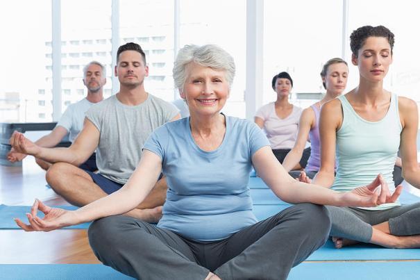 yoga heals