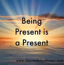 being present is a present