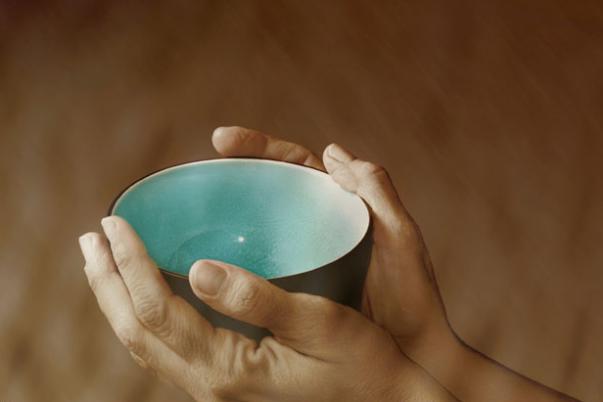 empty pottery bowl