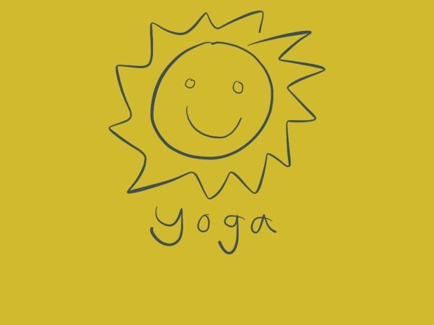 yoga happy