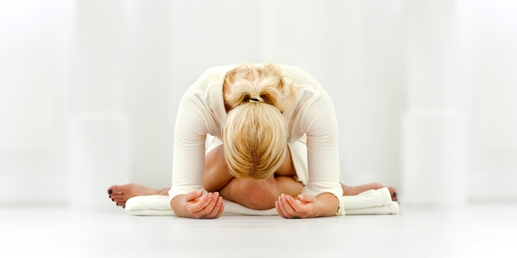 letting go in yin yoga
