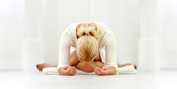 letting go in yin yoga