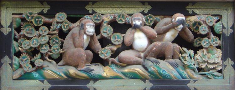 toshogu monkeys