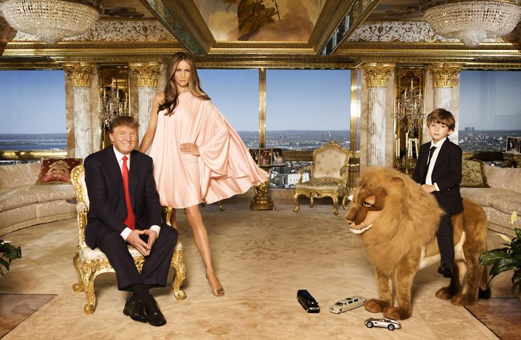 inside the Trump penthouse