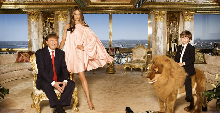inside the Trump penthouse