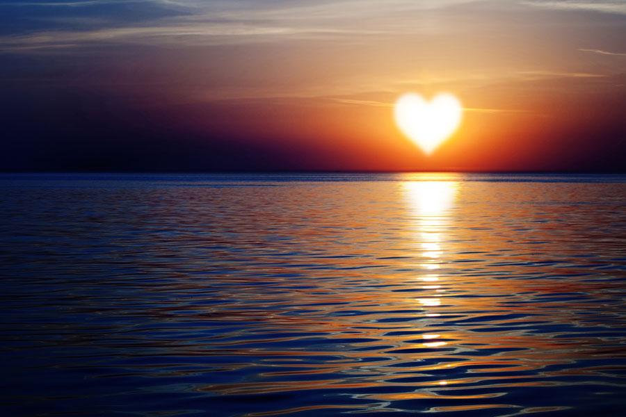love sunset