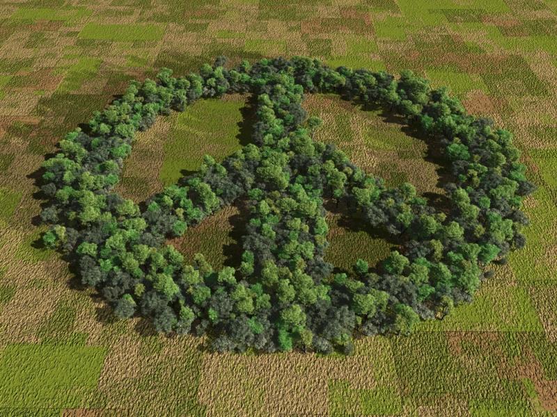peace symbol art