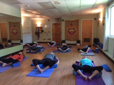 Watts of Yoga class