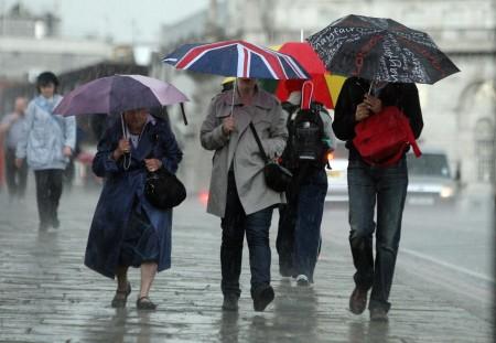 rain in England
